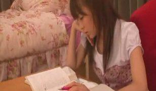 Asian Rin Wants a Study Break