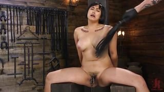 Busty Asian Beauty Gets Whipped And Tortured